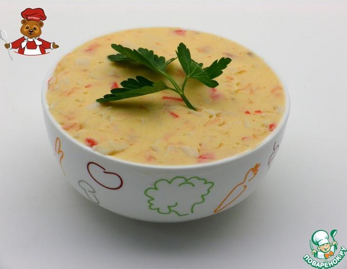 Рецепт: Сыр плавленый Коралл