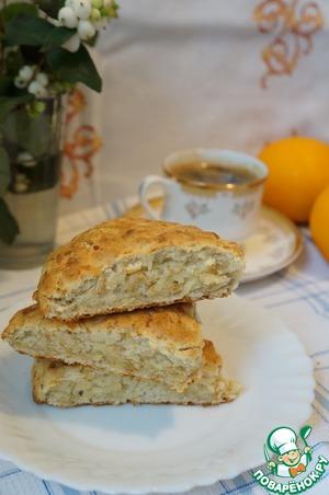 Рецепт Быстрый овсяно-сырный хлеб к завтраку