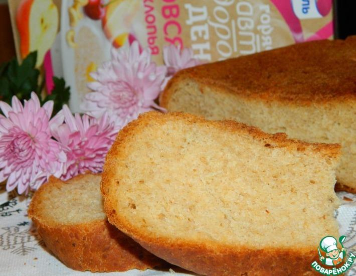 Рецепт: Медово-овсяный хлеб