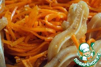 Рецепт: Свиные ушки по-корейски