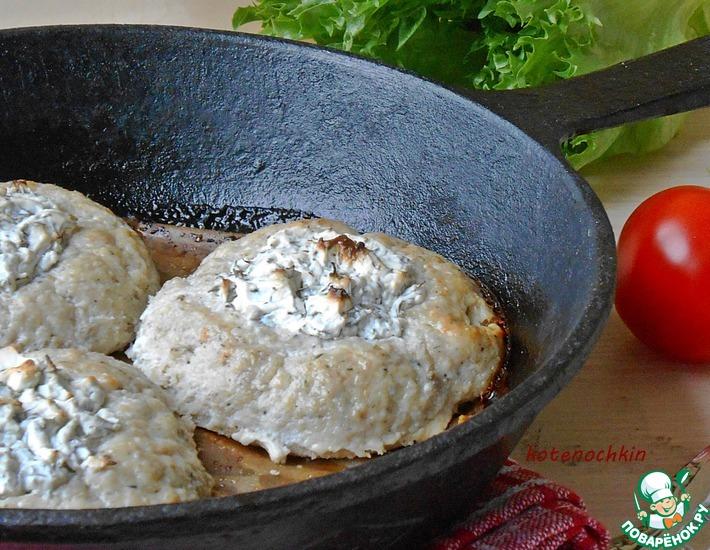 Рыбные ватрушки с фетой – кулинарный рецепт