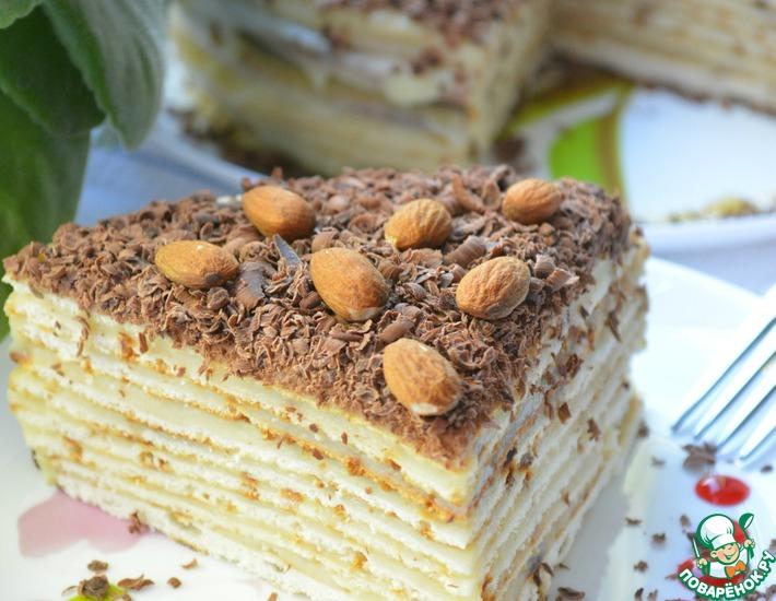 как приготовить торт нежность