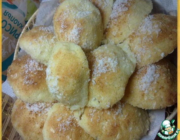 Рецепт: Печенье с рисовыми хлопьями