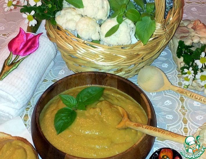 Рецепт: Овощное пюре с грибами
