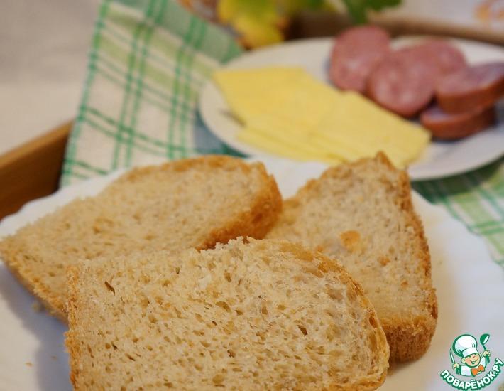 Рецепт: Горячий овсяный хлеб