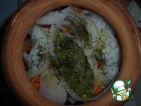 Скумбрия, запеченная в горшочке ингредиенты