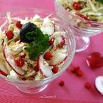 Салат из белокочанной капусты Витаминный
