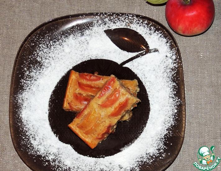 Рецепт: Яблочный пирог Осень