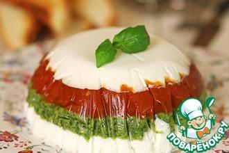 Рецепт: Закусочный торт в итальянском стиле