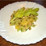 Картофельный салат с копчёной курицей