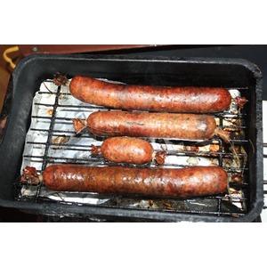 Полукопченая свиная колбаса