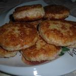 Крабово-сырные котлетки