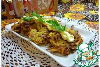 Рецепт: Овсяные драники с картофелем и имбирем