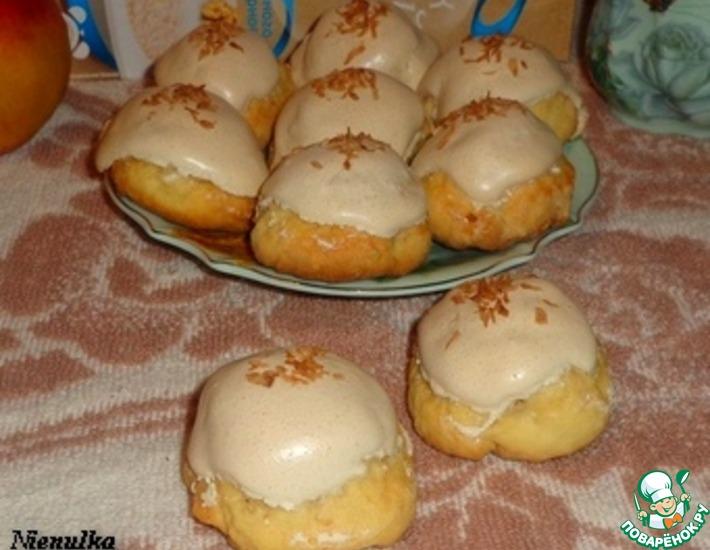 Рецепт: Печенье с изюмом и яблоком Сладкие вершины