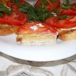 Теплый бутерброд с драниками и сыром