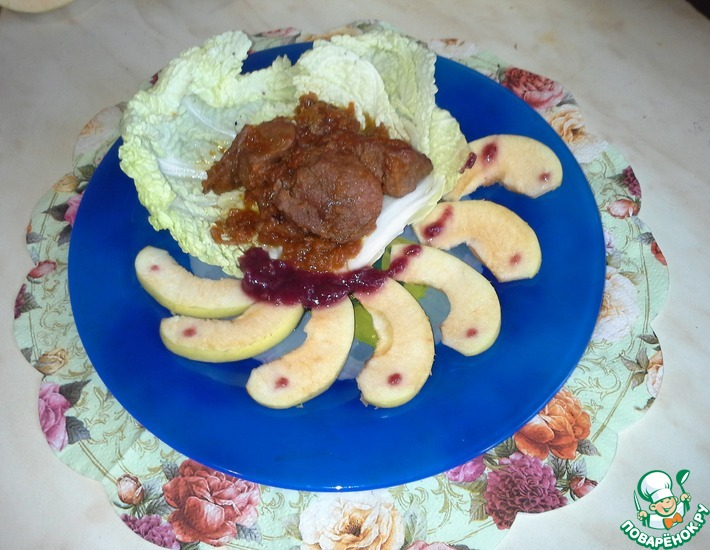 Рецепт: Нежное мясо утки в соевом соусе