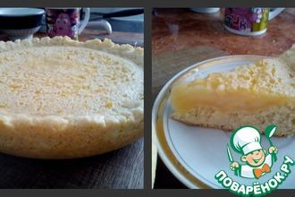 Рецепт: Лимонный пирог в мультиварке