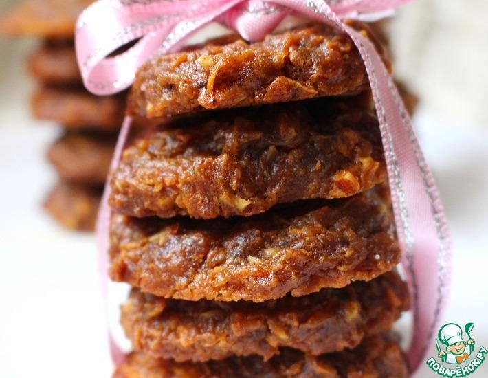 Рецепт: Морковное печенье на ржаной муке