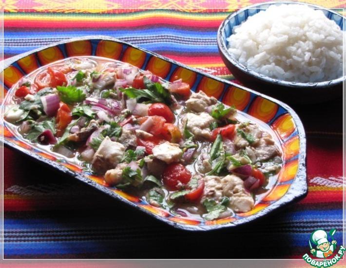 Рецепт: Севиче экваториано