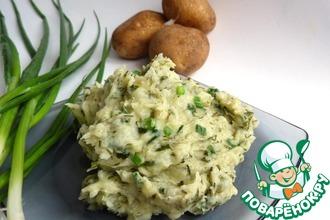 Рецепт: Картофельное пюре по ирландски (или Колкэннон)