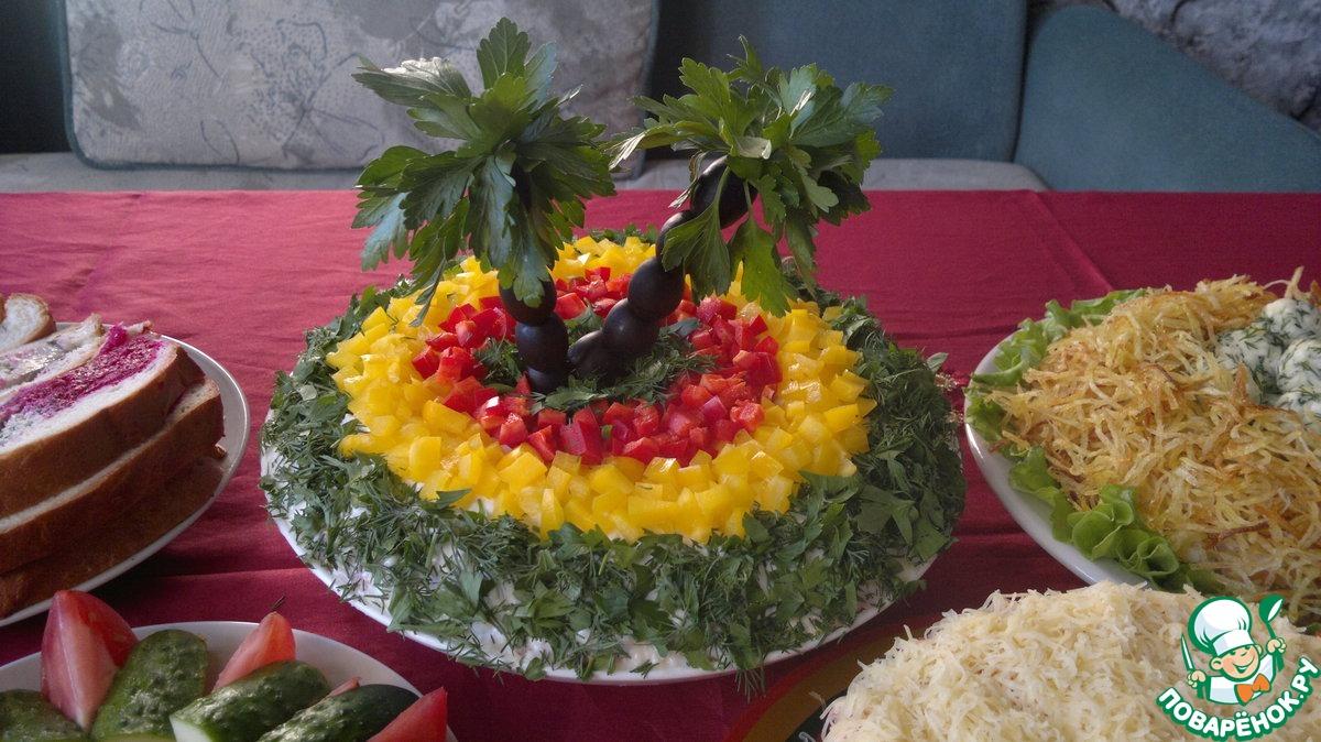 бойфренд салат пальма рецепт с фото доме