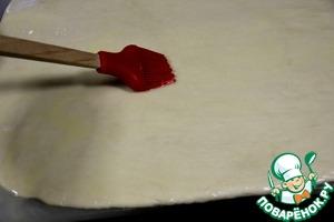 Мясной чизкейк с брусничным соусом – кулинарный рецепт