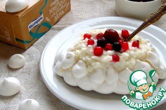 Рецепт: Завтрак-десерт А-ля Павлова