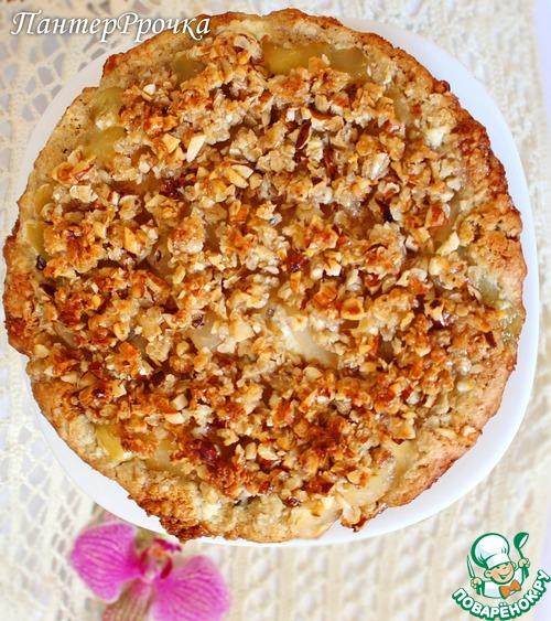 Необычный яблочный пирог – кулинарный рецепт