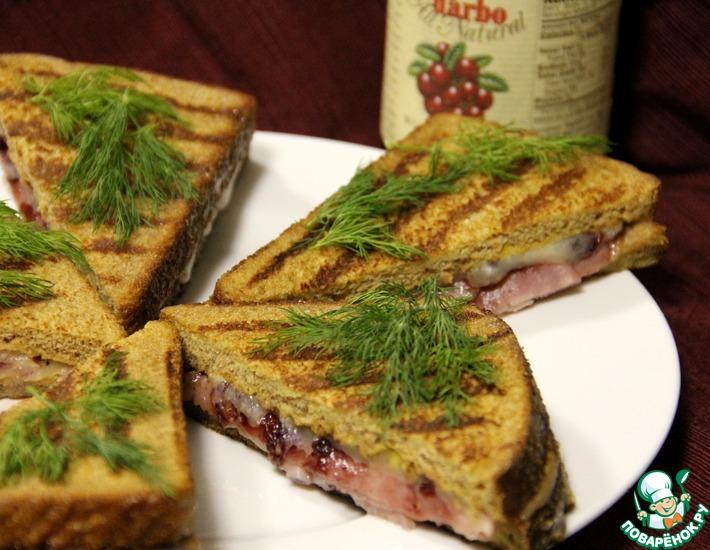 Рецепт: Сэндвич Монте Кристо
