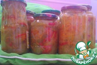 Рецепт: Салат из зеленых помидор
