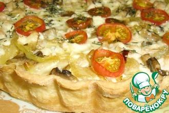 Рецепт: Лоранский пирог