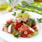 Нежный витаминный салат