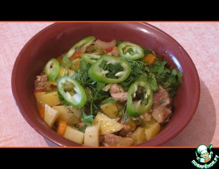 Рецепт: Азу по-татарски