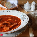 Томатный суп Самый быстрый