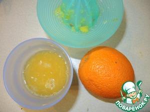 Приготовим шоколадно-апельиново -соевый соус к рыбе. Из свежих апельсинов выжать сок.