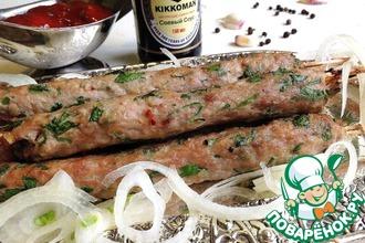 Рецепт: Люля-кебаб в духовке