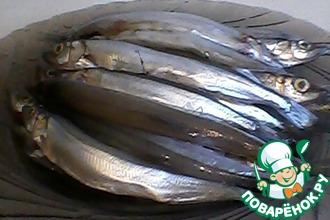 Рецепт: Соленая мелкая рыба