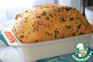 Выпекаем в предварительно разогретой до 180°С духовке - 30-40 мин. Ориентируйтесь по своей духовке! Вытаскиваем хлеб из формы, заворачиваем в полотенце и остужаем.