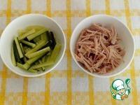 Салат с курицей и огурцом ингредиенты