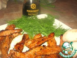 Ароматна и пикантная свининка готова к вашему ужину! Угощайтесь на здоровье!