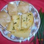 Картошка под хинкали
