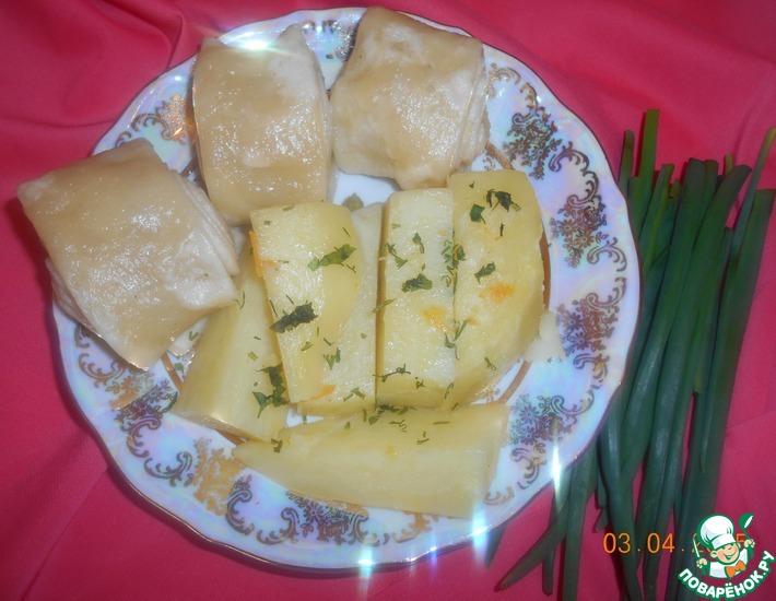 Рецепт: Картошка под хинкали