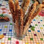 Хлебные палочки Гриссини из ржаной муки