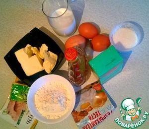 Подготовим ингредиенты (масло, яйца и молоко должны быть комнатной температуры):