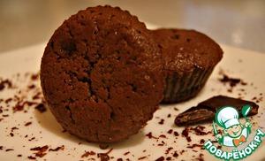 Наши маффины готовы. Теперь вы можете их украсить на свой вкус (сахарная/ореховая пудра и т. д).    Приятного аппетита! :)