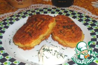 Рецепт: Рыбно-картофельные драники