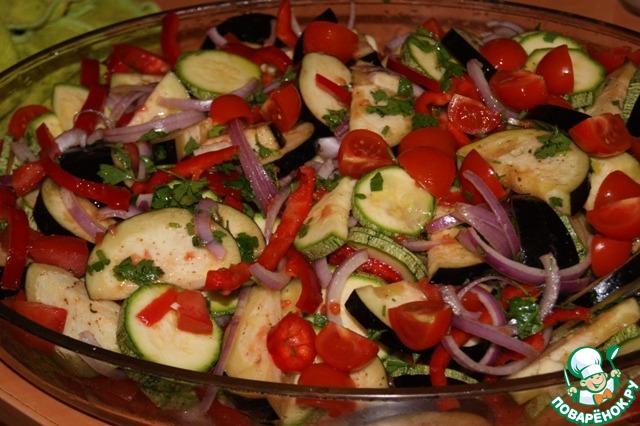 куриное филе с кабачками в духовке рецепт с фото