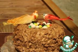 Торт готов! Приятного аппетита!