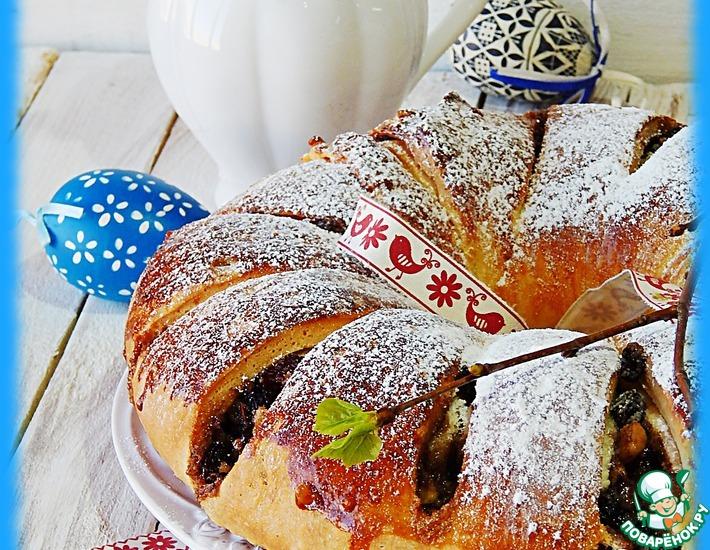 Рецепт: Пасхальный хлеб-пирог