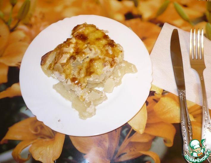 Рецепт: Картофельная запеканка Домашняя